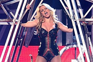Britney Spears Tapes 'Good Morning America' Performance [PHOTOS]