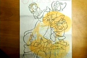 Inmates' Coloring Books Painted With Drugs [VIDEO]