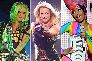 Britney Spears Teams With Ke$ha, Nicki Minaj on 'Till the World Ends' Remix