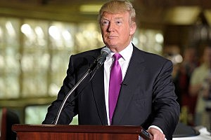Donald Trump Tied for First in GOP Presidential Poll