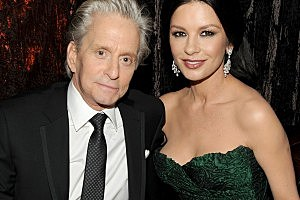 Michael Douglas on Oprah: Catherine Zeta-Jones Is Doing 'Great'