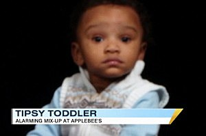 Waiter Serves Toddler Alcohol Instead of Apple Juice [VIDEO]