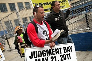 Doomsday Predictor Says Invisible Judgment Day Came Saturday