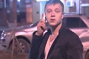 Drunk Man Mistakes Cigarettes for Cell Phone