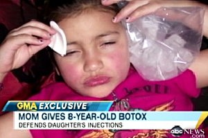 Mom Gives 8-Year-Old Daughter Botox Injections