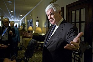 Newt Gingrich's Ringtone: 'Dancing Queen'