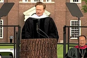 Conan O'Brien Gives Hilarious Commencement Speech at Dartmouth