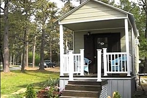 Family of Three Lives in 320-Square-Foot Home