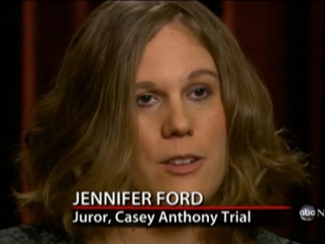 Casey Anthony Juror Speaks Out: 'There Wasn't Enough Evidence' [VIDEO]