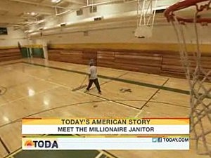 Janitor Wins $3.4 Million Lottery -- and Continues to Be A Janitor [VIDEO]